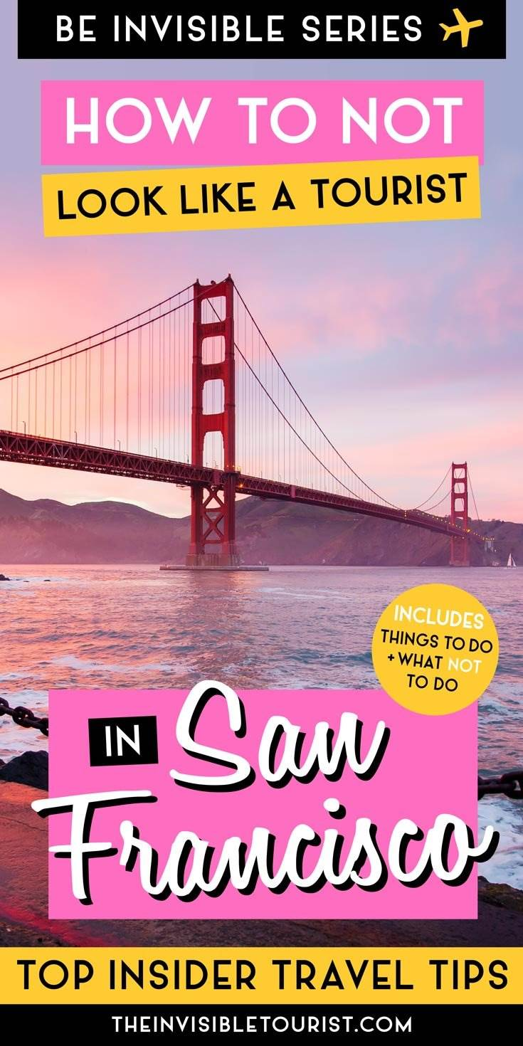 San Francisco Insider Conseils d'un local à savoir avant de partir | The Invisible Tourist #sanfrancisco #invisibletourism #traveltips #insidertraveltips #likealocal #sanfranciscotravel #californiatravel #roadtrip #citybreak #unitedstates