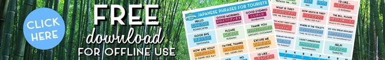 Japanese for travelers pdf
