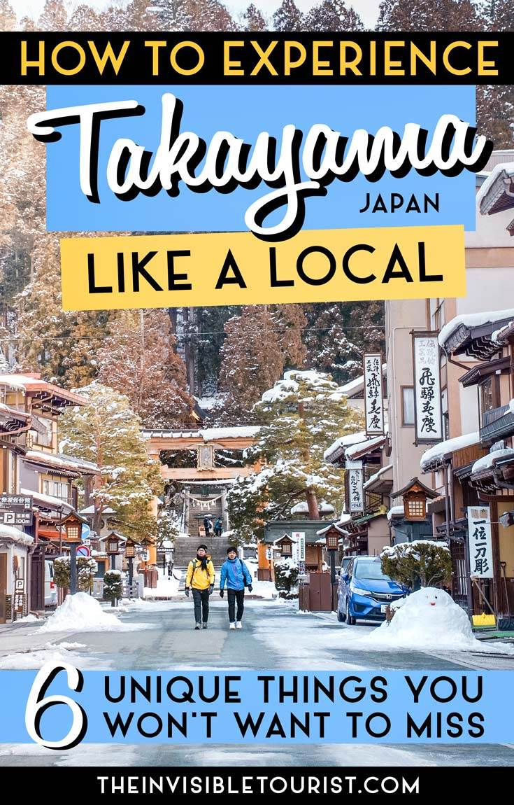 6 Unique Experiences in Takayama Old Town Revealed by a Local | The Invisible Tourist #takayama #oldtown #gifu #japan #likealocal #festival #market #sake #invisibletourism