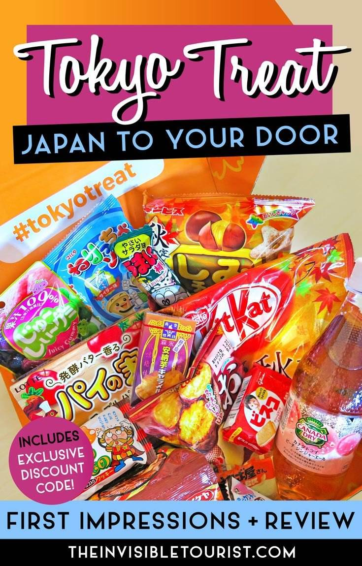 Tokyo Treat Review: Delivery, First Impressions, Snacks