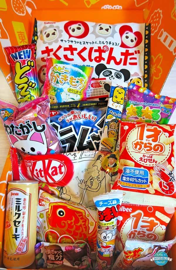 Toyko Treat Review: Boîte d'abonnement japonaise