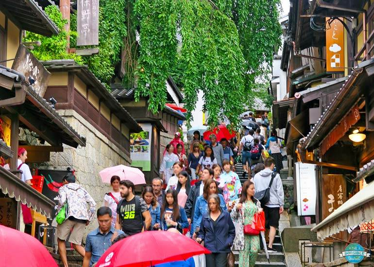 Overtourisme à Kyoto, Japon | Le touriste invisible