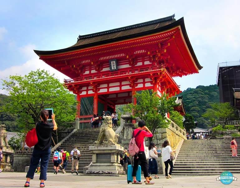 Entrée de Kiyomizu-Dera, Kyoto