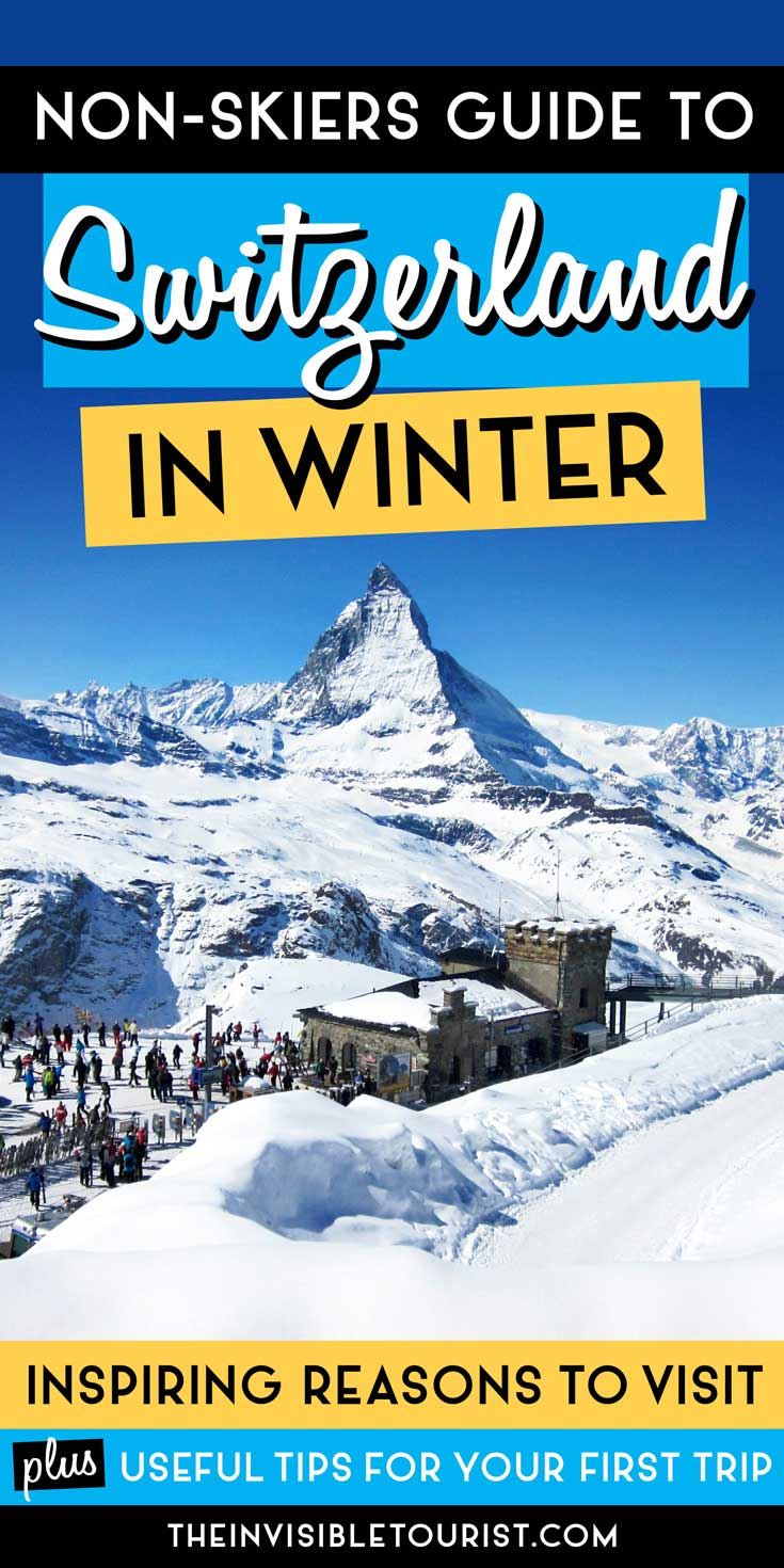 Raisons inspirantes de visiter la Suisse en hiver pour les non-skieurs | Le touriste invisible