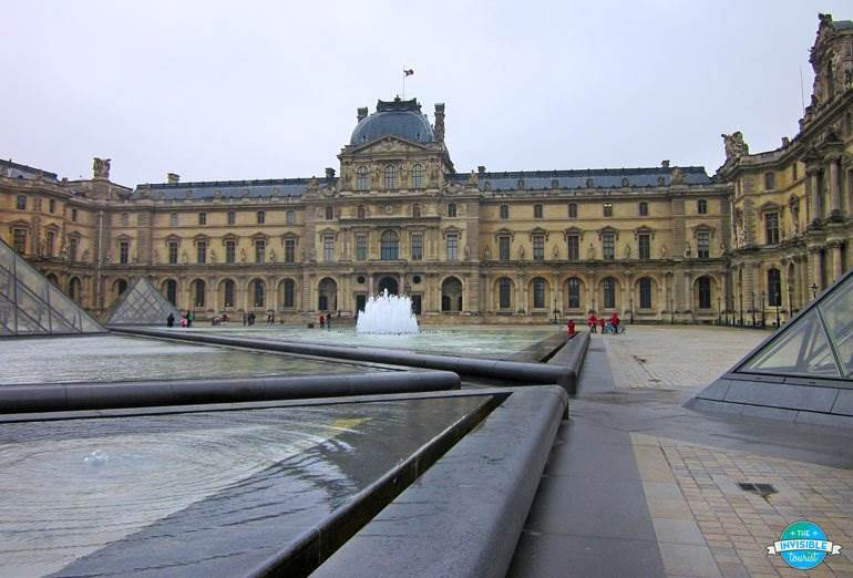 The Louvre in Winter