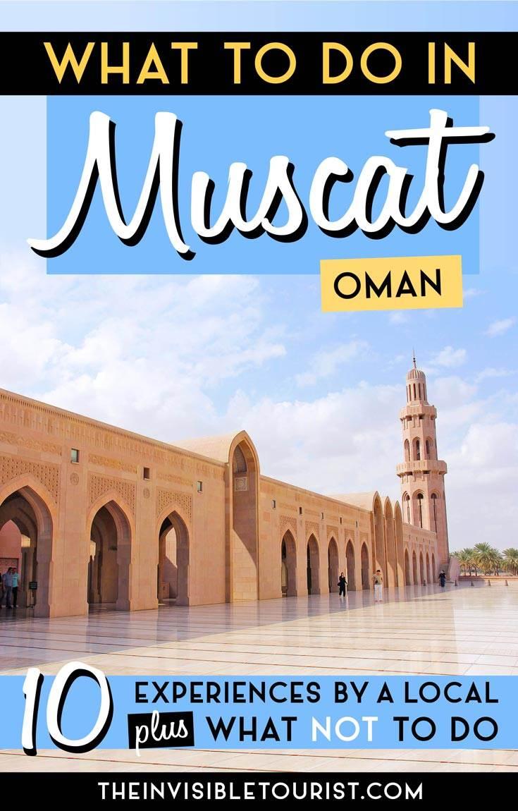 Que faire à Mascate: 10 conseils pour vivre la vie à Oman comme un local | The Invisible Tourist #muscat #oman #traveltips #thingstodo #whattosee #likealocal #invisibletourism