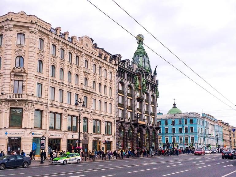 Nevsky, St Petersburg, Russia