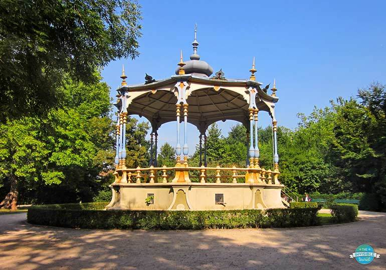 """Gazebo featured in """"In Bruges"""" Movie 