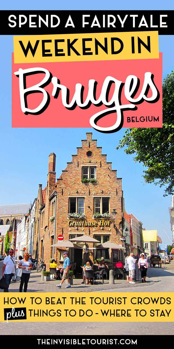 Spend a Fairytale Weekend in Bruges