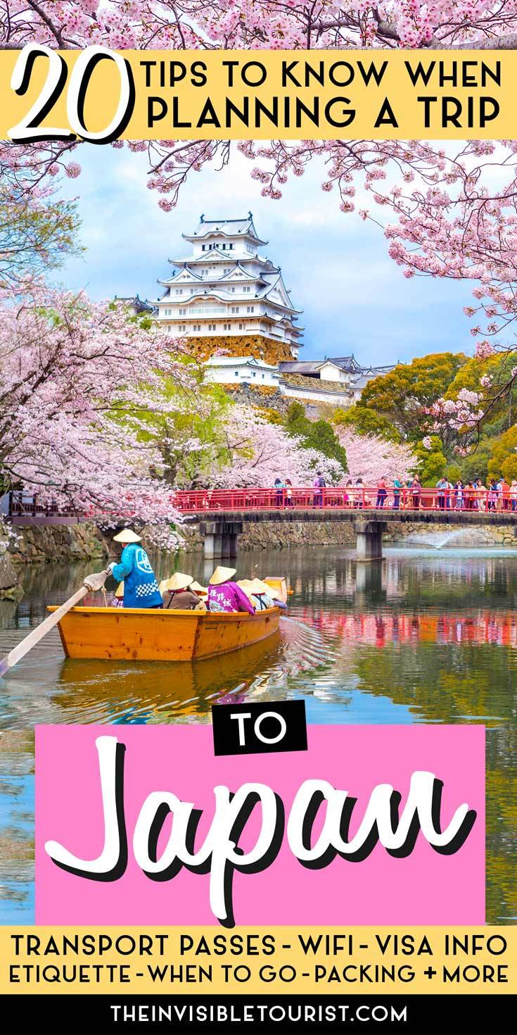 20 Essential Tips You Must Know When Planning a Trip to Japan | The Invisible Tourist