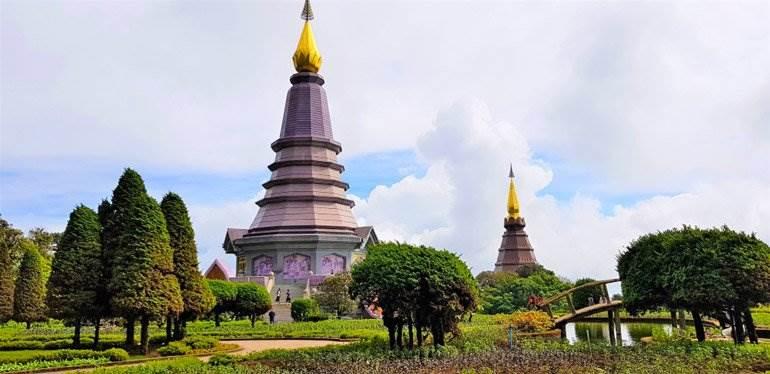 Temple à Chiang Mai en Thaïlande