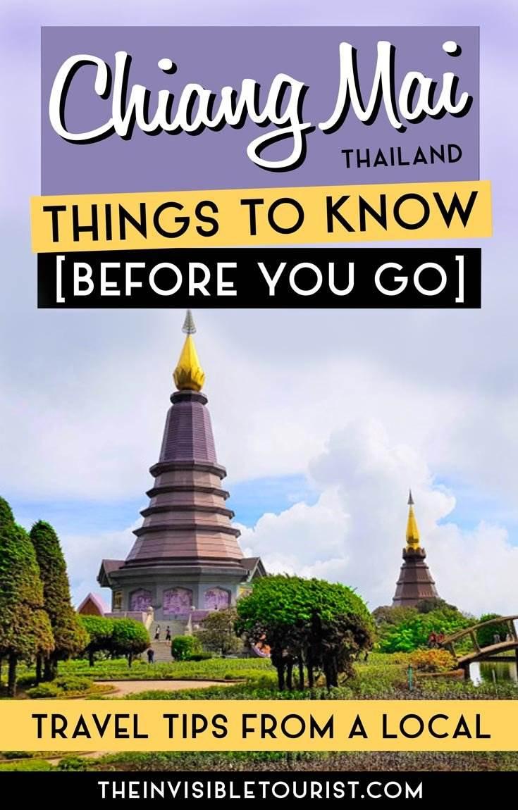 Chian Mai conseils de voyage pour éviter de ressembler à un touriste
