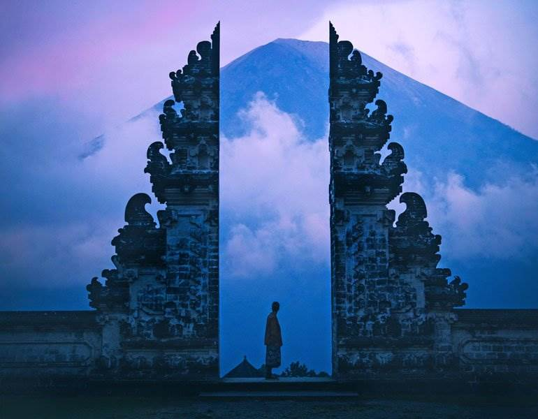 Gates of Heaven in Bali, Indonesia
