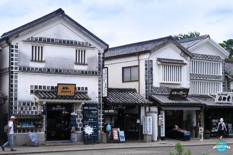 Kominka dans le quartier historique de Kurashiki Bikan