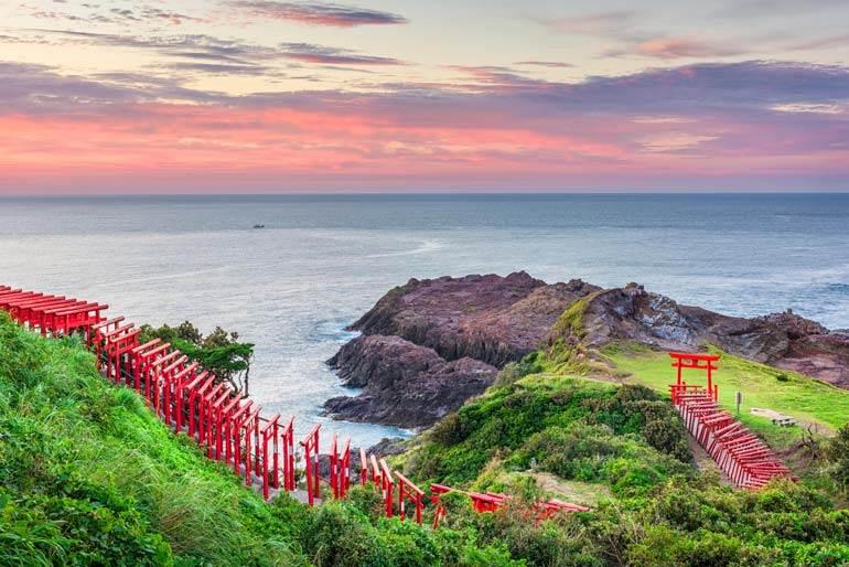 Sanctuaire Motonosumi à Kyushu hors des sentiers battus au Japon