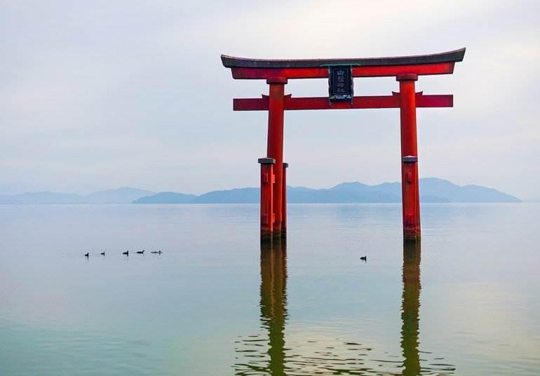 Le lac Biwa à Kansai hors des sentiers battus