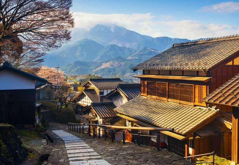 Magome, Kiso Valley au Japon hors des sentiers battus