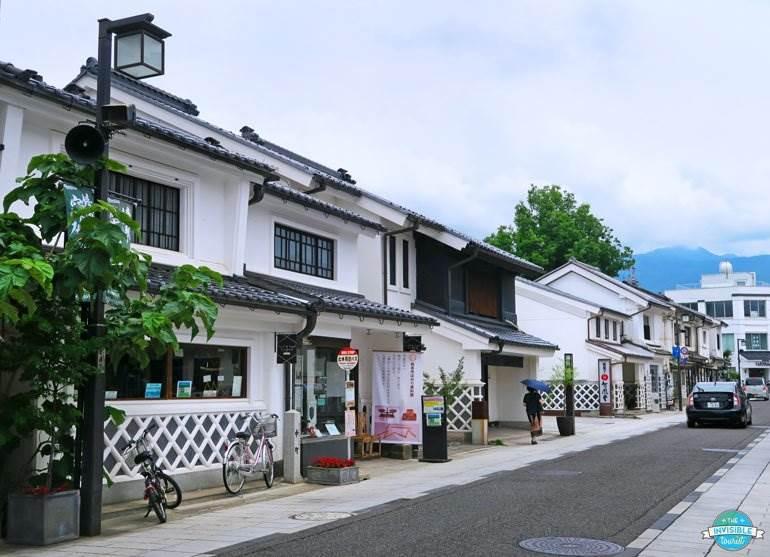 Nakamachi-dori, Matsumoto au Japon hors des sentiers battus
