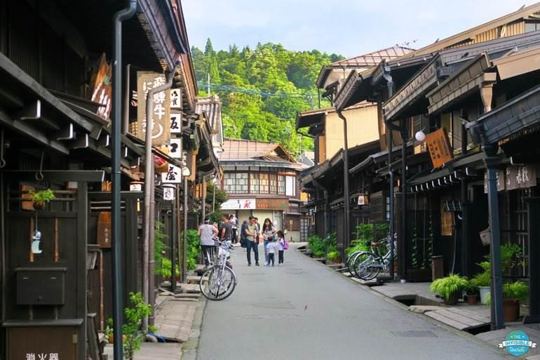 Vieille ville, Takayama au Japon hors des sentiers battus