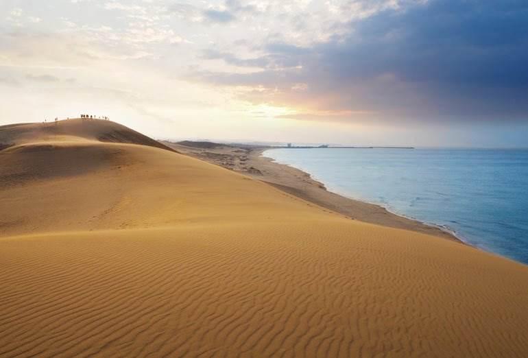 Dunes de sable de Tottori, Chugoku au Japon hors des sentiers battus