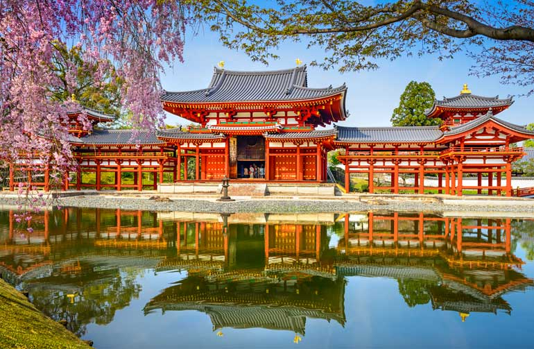 Byodo-in Temple, one of the best day trips from Kyoto