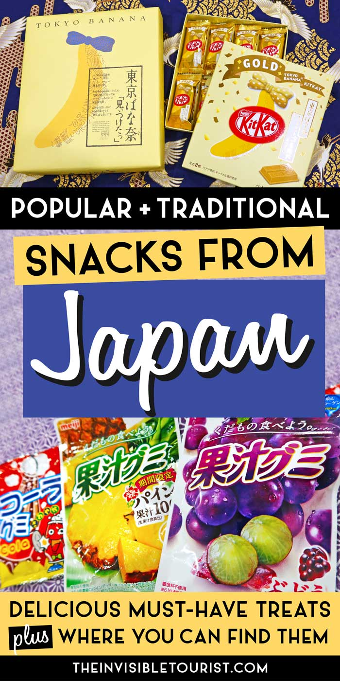 Must have snacks from Japan without which you cannot go home | The Invisible Tourist