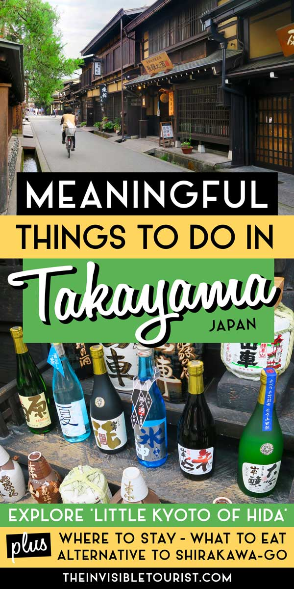 2 Days in Takayama Itinerary: Discover Old-World Charm and Culture | The Invisible Tourist
