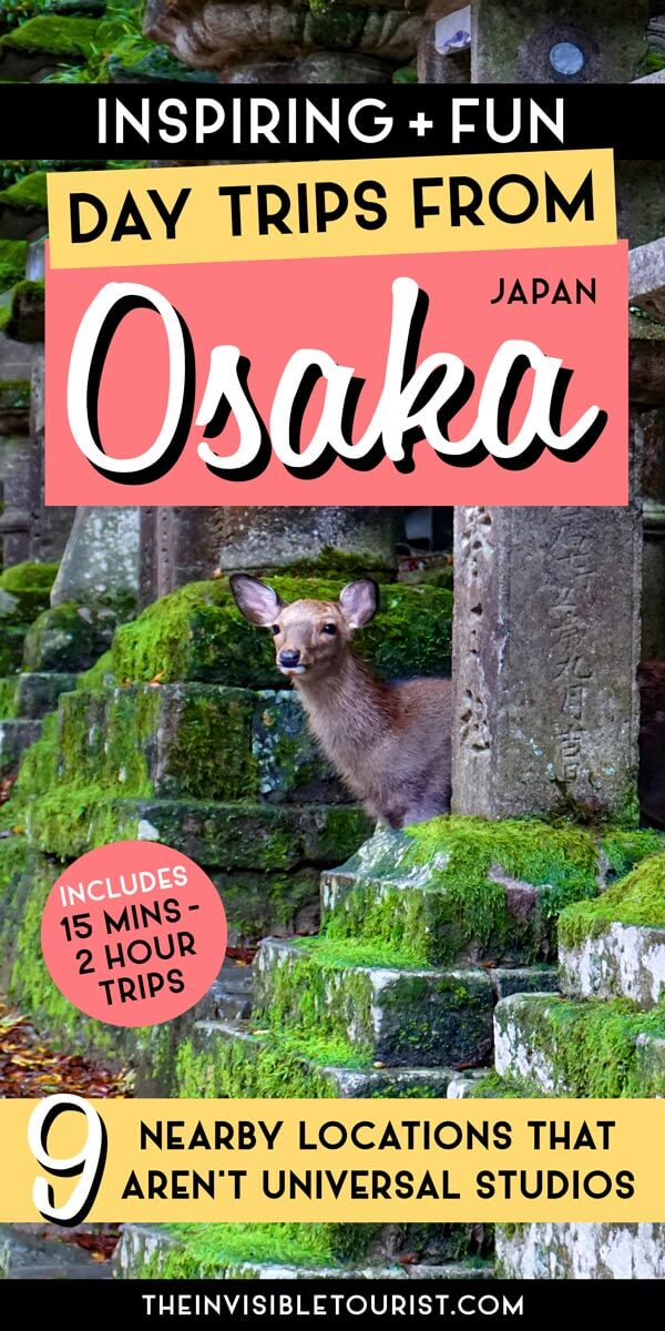 Best Day Trips from Osaka That Aren't Universal Studios | The Invisible Tourist