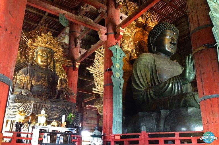 Todai-ji in Nara is one of the popular day trips from Osaka