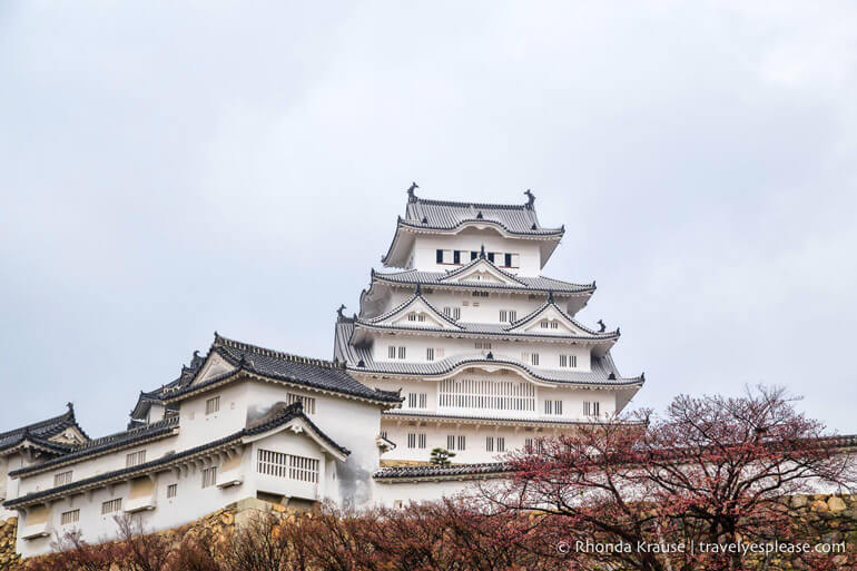 Himeji Castle is one of the best day trips from Osaka