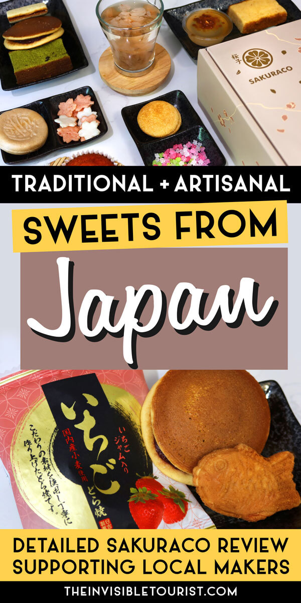 Authentic Japanese Sweets Box by Local Makers   The Invisible Tourist