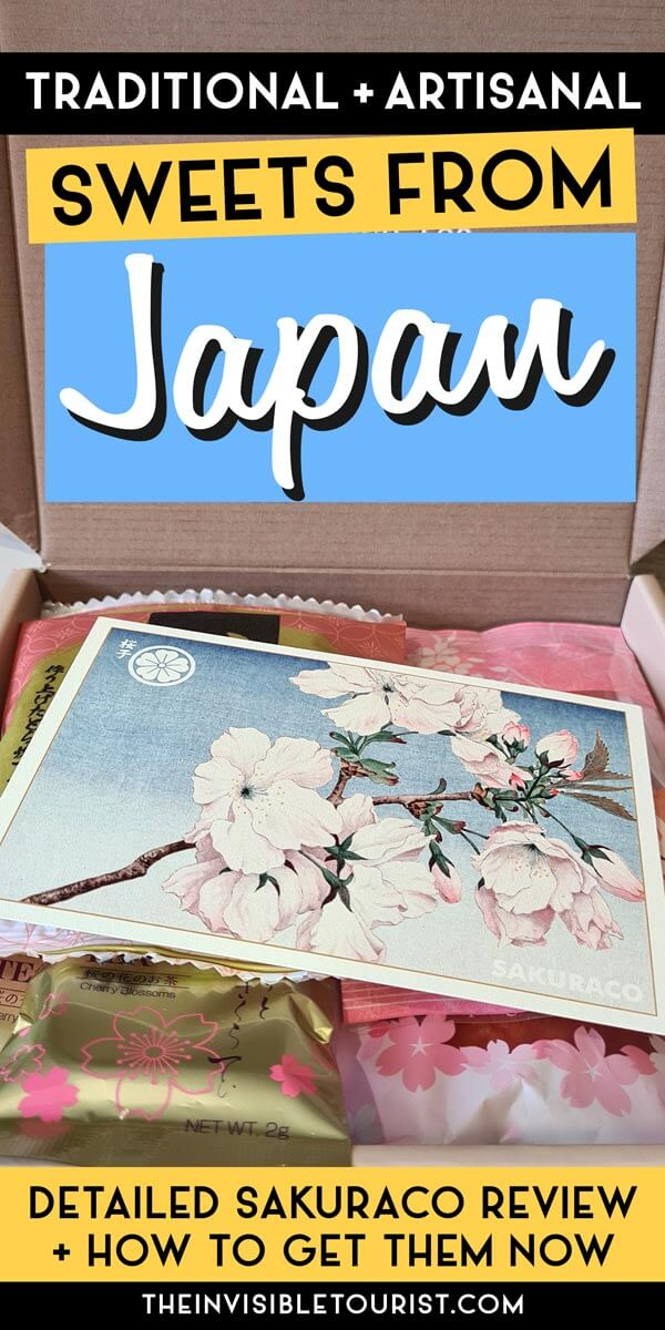 Sakuraco Review of Artisanal Japanese Sweets   The Invisible Tourist
