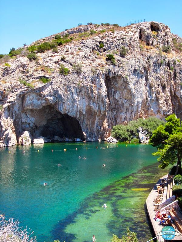 Geothermal wonders such as Lake Vouliagmeni are a great reason to travel to Greece