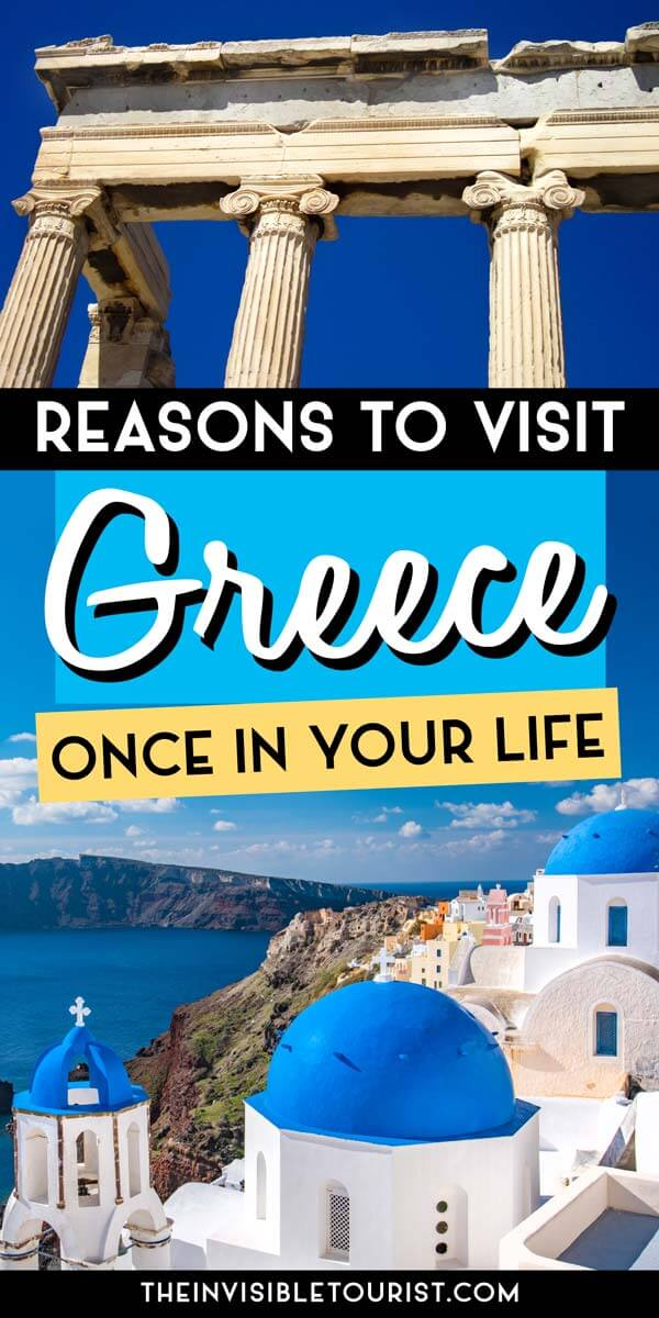 14 Reasons to Travel to Greece You Haven't Thought Of | The Invisible Tourist