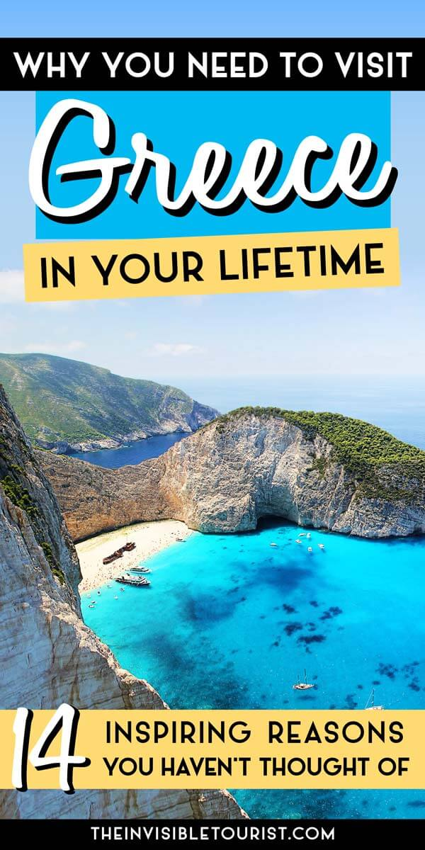 14 Inspiring Reasons to Visit Greece in Your Lifetime | The Invisible Tourist