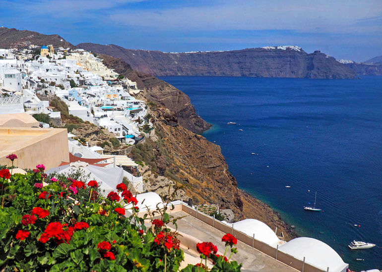 Breathtaking vantage points are a great reason to travel to Greece