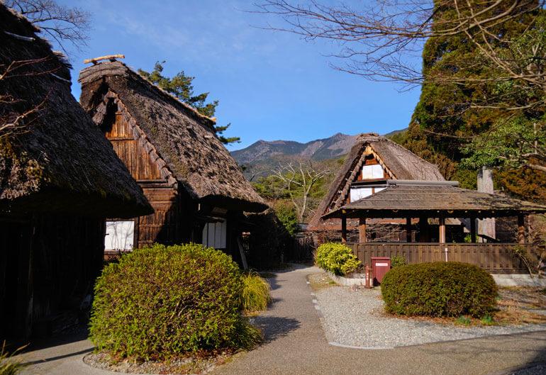 Gassho-mura Open Air Museum, Gero Onsen
