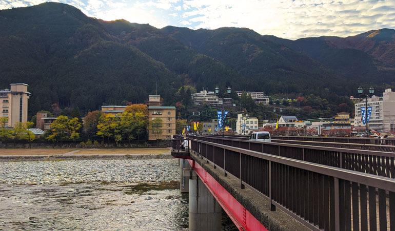 Gero Ohashi Bridge, Gero Onsen