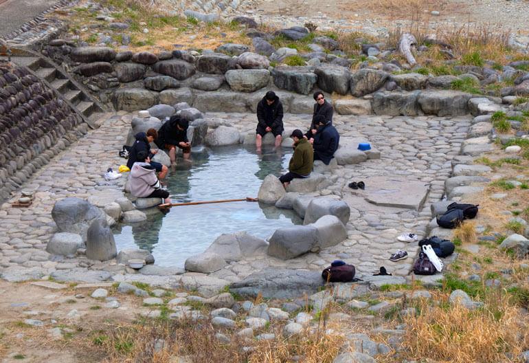 Outdoor Hot Spring, Gero Onsen